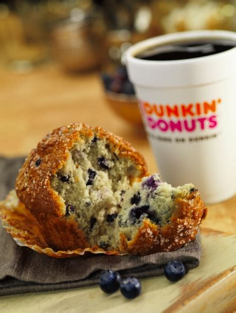 One of their most popular baked good offerings is the muffins, which are available in seven varieties: DUNKIN' DONUTS ANNOUNCES EXPANSION PLANS IN CHINA WITH SIGNING OF LARGEST DEVELOPMENT AGREEMENT ...