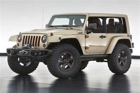 moab jeep concept jeep unveils extreme wrangler concepts before moab