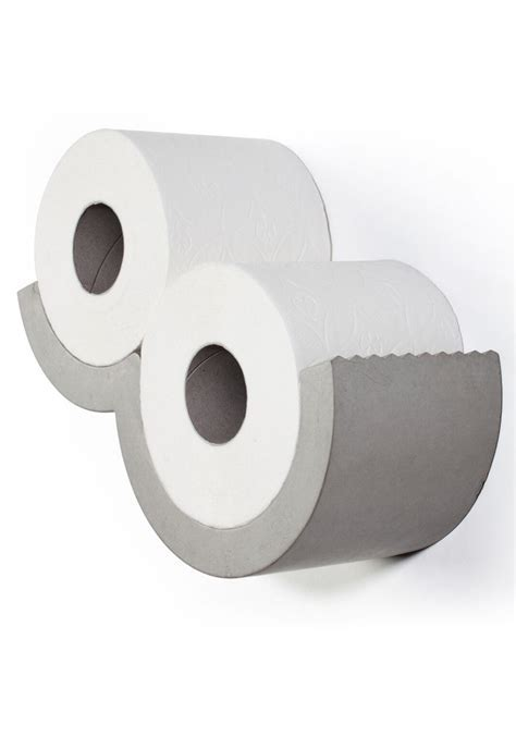 Cloud XS Toilet Paper Dispenser   Lyon Beton Concrete