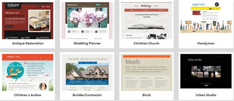 Godaddy Templates by Godaddy Website Builder Templates For A Stunning Website