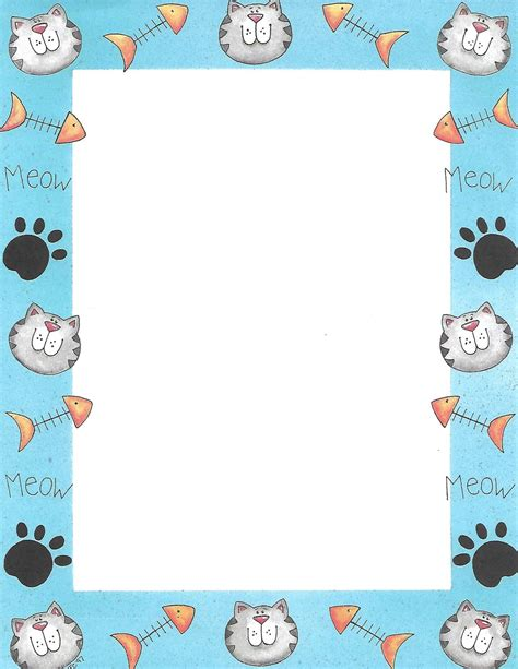 Cat Page Border by Silvermoonlight217 on DeviantArt