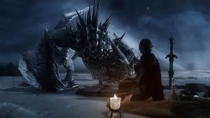 Skyrim Elder Dragon Scrolls Wallpapers Desktop Backgrounds