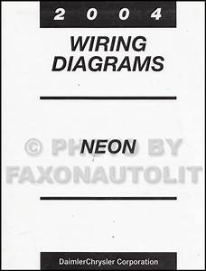 2004 Dodge Neon Wiring Schematic