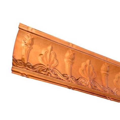Penny floors of copper pennies, how to install penny floor or make penny floor and penny flooring from penny another option for copper penny tile floor is the head or tail up randomly, and others. Great Lakes Tin Superior Crown Molding at Menards®