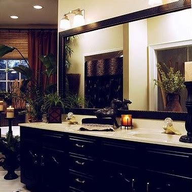 bathroom mirror makeovers hooked  houses