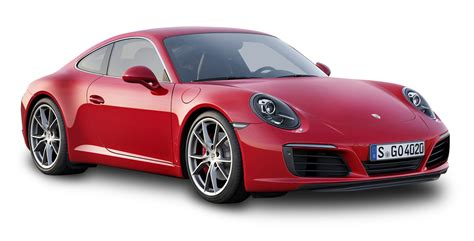 Red Porsche 911 Carrera Car Png Image Pngpix