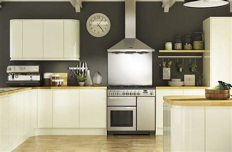Holborn Cream Gloss Kitchen  Modern Range  Benchmarx