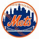 Mets York Wikipedia Ny Baseball Logos Mlb
