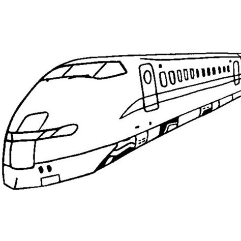 Hyperloop Kleurplaten by High Speed For Passanger Coloring Page Color