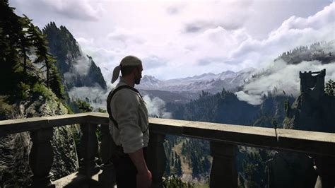 Witcher 3 Animated Wallpaper - witcher 3 kaer morhen view animated wallpaper