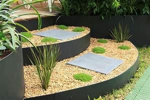 Low-maintenance metal garden edging - Completehome