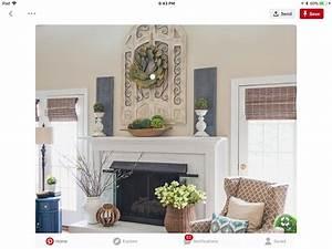 Pin, By, Judy, Webb, On, Mantel, Decorating, Ideas