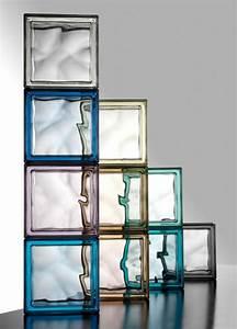 brique de verre couleur obasinccom With carrelage adhesif salle de bain avec pavé de verre led