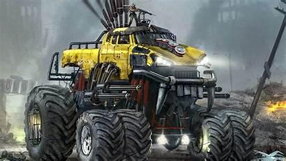 Monster Truck Trucks Wallpapers Jam Cool Background
