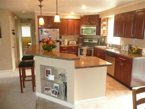 split level kitchen island 17 best images about bi level counter on