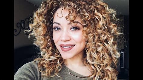 curly haircut color deva cut   youtube