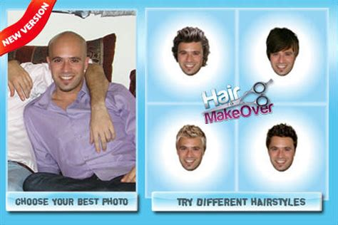 is there a haircut app hair makeover new hairstyle and haircut in a minute on