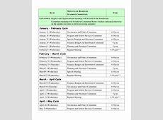 10+ Meeting Schedule Samples Sample Templates