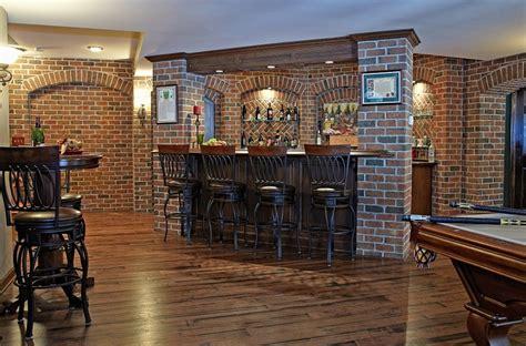 bilder chaotische küche pub bar im keller mit einem sch 246 nen backstein kulisse bars