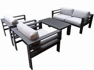 Lounge Set Aluminium : aluminium loungeset finest loungeset malaga aluminium with aluminium loungeset perfect kata ~ Indierocktalk.com Haus und Dekorationen