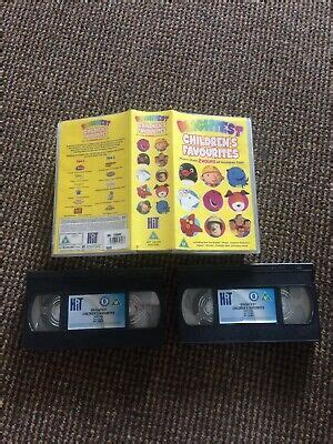 childrens favourites 3 video vhs childrens family 163 1 25 picclick uk