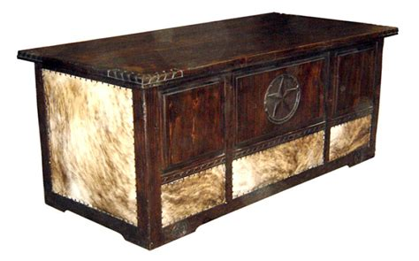 Cowhide Desk by Million Dollar 07 1 Ch 20 06 Rope Cowhide Rustic Desk