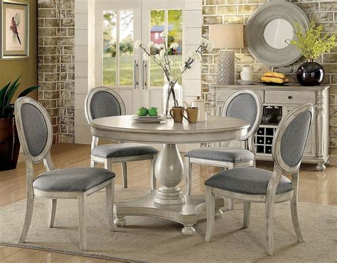 siobhan dining room white by furniture of america furniturepick