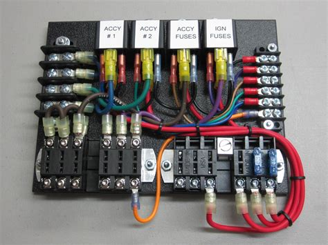 Electrical Fuse Box In Car by Custom Relay Panels Ce Auto Electric Supply