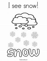 Coloring Snow Snowfall 886px 92kb Twistynoodle sketch template