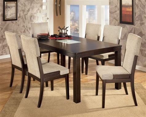 dining table and 6 chairs dining room 2017 favorite ashley furniture dining room
