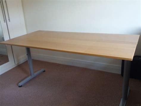 ikea galant desk for sale ikea galant oak veneer desk for sale in dundrum dublin