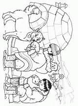 Coloring Inuit Snow Husky Bears Three Pages Brett Jan Bear Pups Eskimo Printable Animals Alaska Drawing Buddies Colouring Sheets Polar sketch template