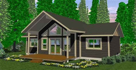 The Tabor  Prefab Cabin And Cottage Plans  Winton Homes