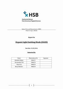 Organic Light Emitting Diodes (OLED) (PDF Download Available)