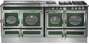 Plaque Gaz Et Electrique : piano de cuisson bois gaz et lectrique 200cm avec 3 fours et plaque de cuisson ~ Nature-et-papiers.com Idées de Décoration