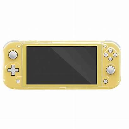Switch Nintendo Lite Case Transparent Crystal Transparente