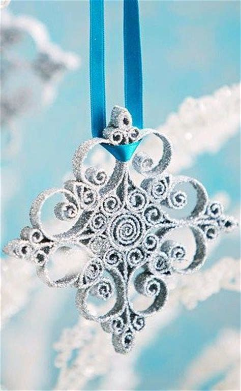 Quilled Snowflake Ornament Diy Tutorial Snowflakes