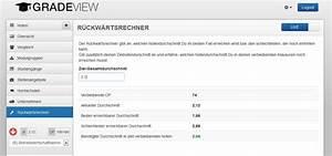 Notendurchschnitt Berechnen : tool um vorl ufige bachelornote zu berechnen gradeview blog ~ Themetempest.com Abrechnung