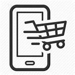 Icon Ecommerce Mobile Marketing Shopping Advertising Icons