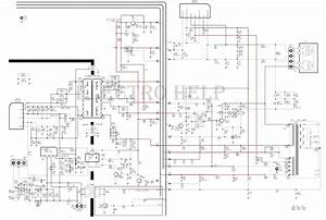 Electro Help  Cl21a551 Samsung Crt Tv  U2013 Circuit Diagram