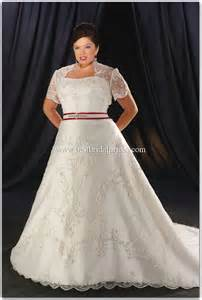 Stunning Strapless Embroidery Floor-length Semi-Cathedral A-line Plus Size Wedding Dresses