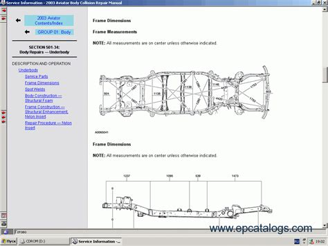 online service manuals 2001 ford f series spare parts catalogs ford usa technical services 2000 2004