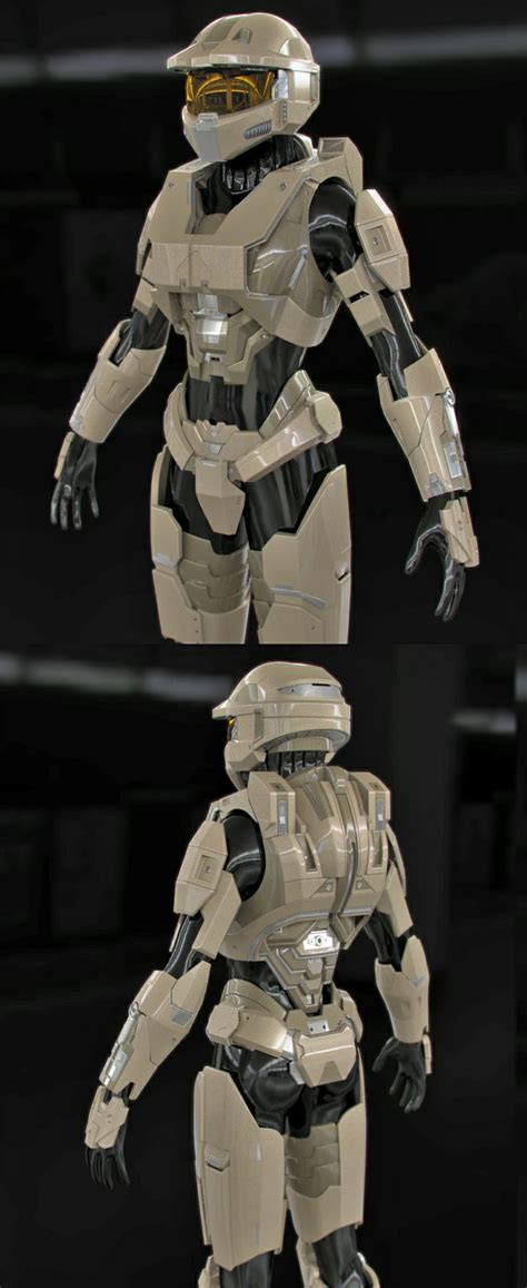 Halo Female Spartan Armor Wip2 By Sgthk Mech Suits