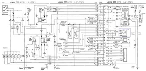 Various Jza Gte Wiring Diagrams Perfecttuning