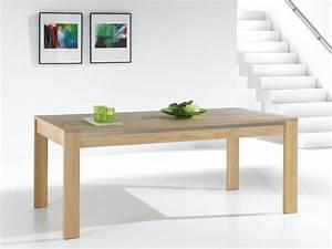 table de salle a manger yucca bois deco With salle a manger yucca