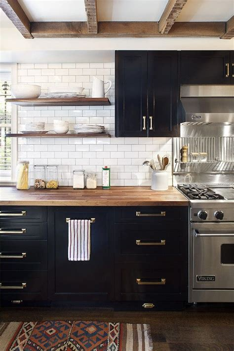 black and kitchen cabinets best 25 black kitchens ideas on kitchen with