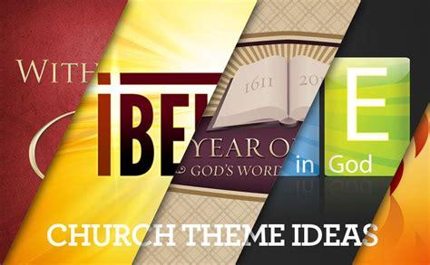 Church Themes Annual Church Theme Ideas Fonts Graphic Design