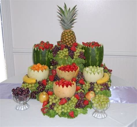 fall arrangements for tables fruit displays for weddings fruit display weddings and