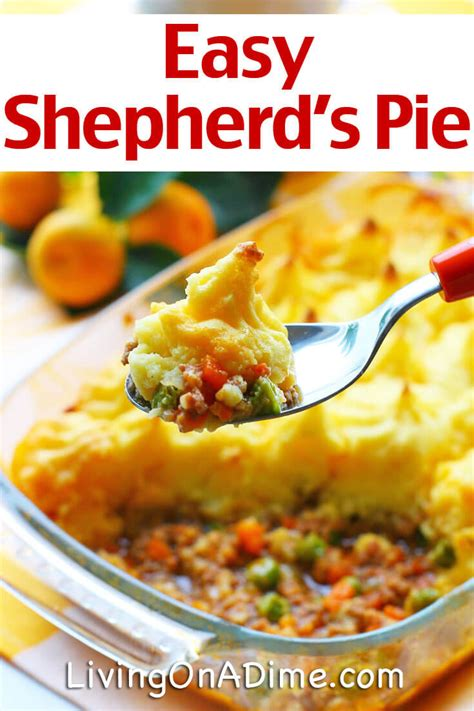 cottage pie recipes easy easy shepherd s pie recipe cottage pie living on a dime