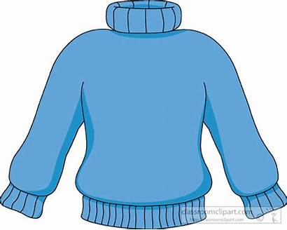 Sweater Clip Clipart Winter Hoodie Ugly Neck